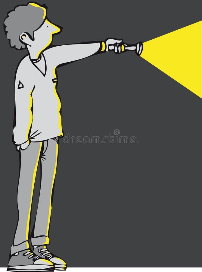 tocha ilustração do vetor