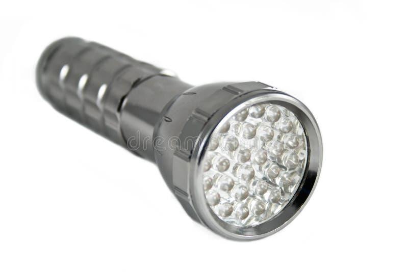 Tocha acessível com diodo emissor de luz foto de stock royalty free