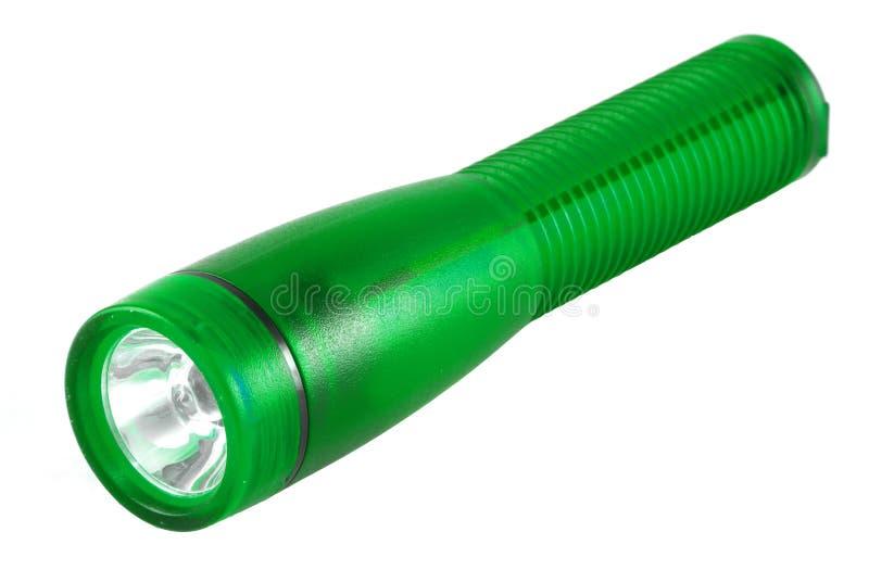Tocha verde fotografia de stock