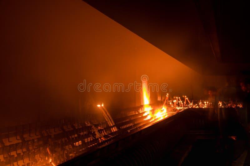 Tocheiro do santuário de Fatima portugal fotos de stock royalty free