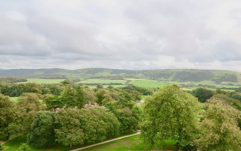 Toczni wzgórza Dorset obrazy stock
