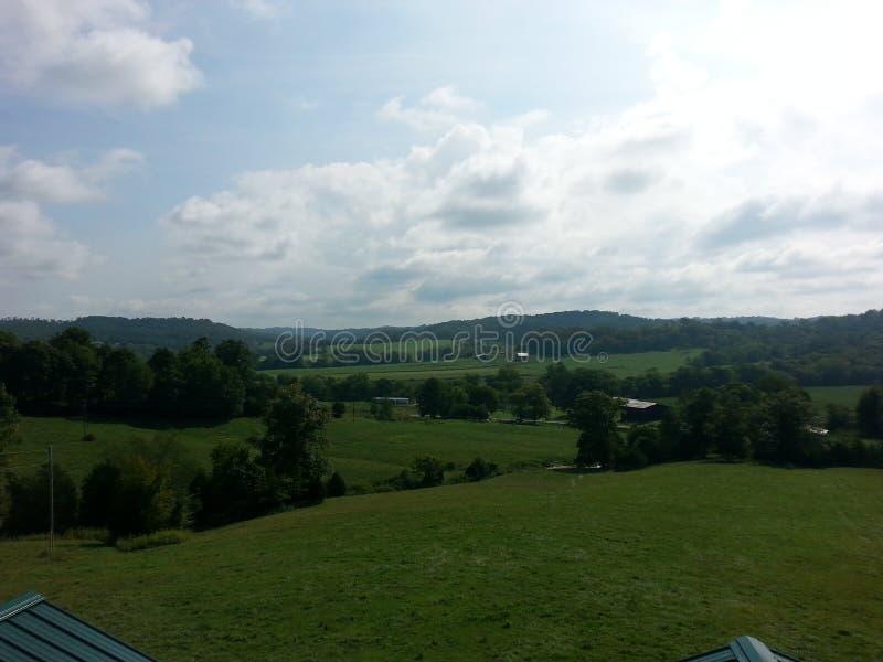 Toczni wzgórza Kentucky zdjęcie stock