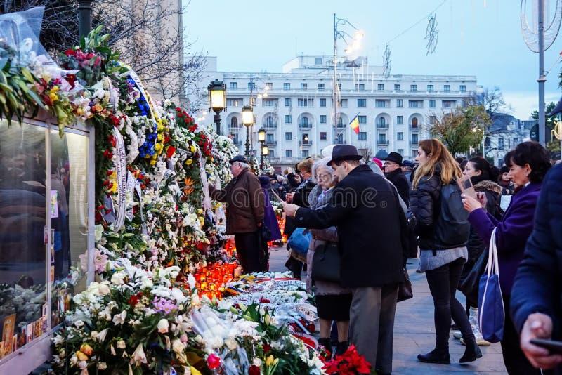 Tod-comemoration von König Mihai von Rumänien lizenzfreie stockfotografie