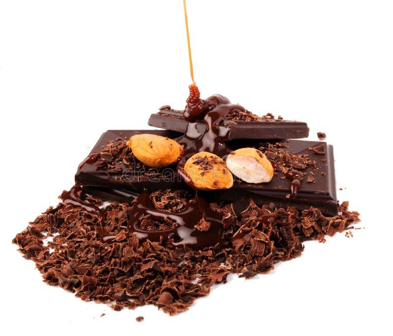 Tod durch Chocolate lizenzfreies stockbild