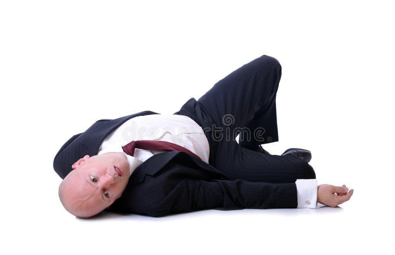 Tod eines Verkäufers lizenzfreie stockfotografie