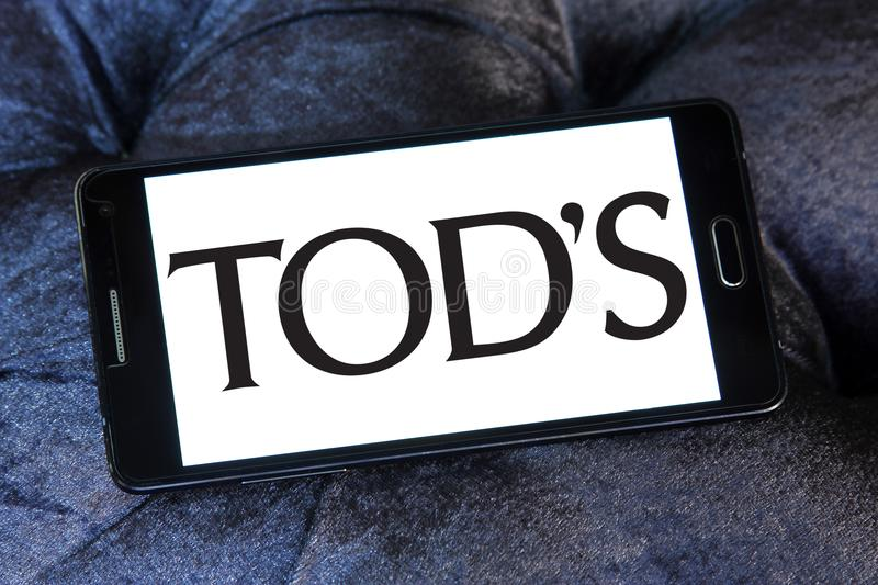 Tod`s fashion brand logo stock photography