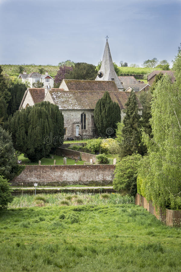 Toda a igreja de Saint, fraca, Kent, Reino Unido fotografia de stock royalty free