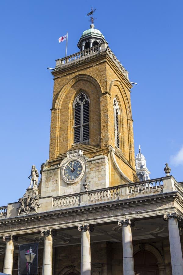 Toda la iglesia de los santos en Northampton imagen de archivo libre de regalías