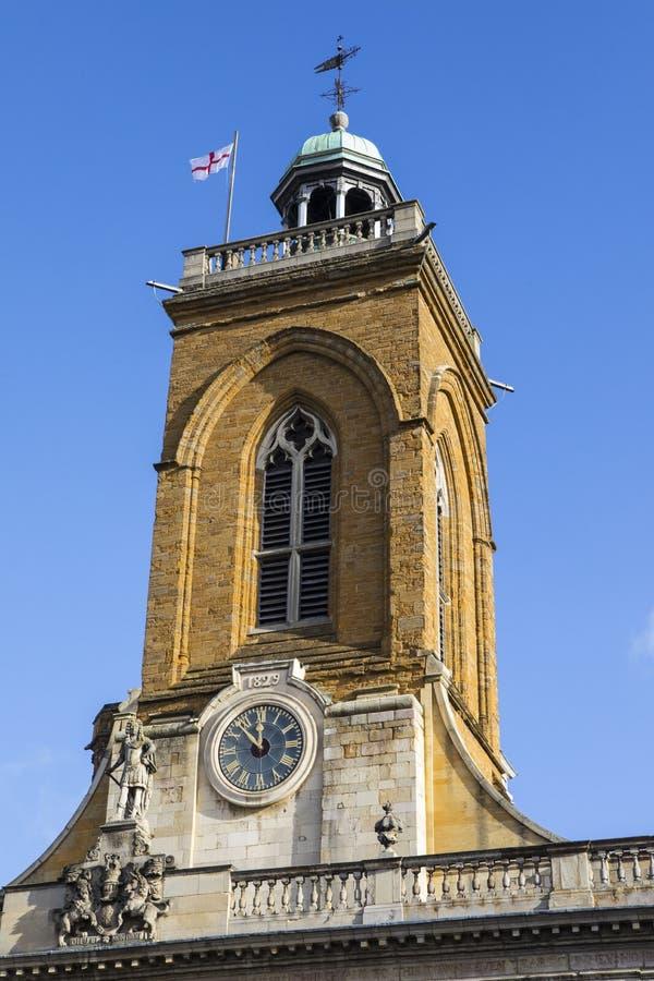 Toda la iglesia de los santos en Northampton fotos de archivo libres de regalías
