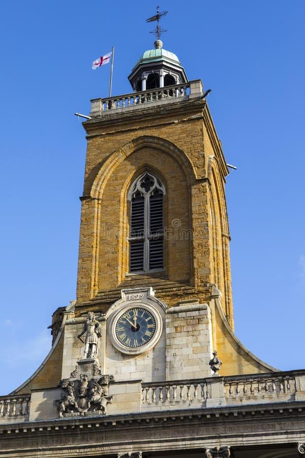Toda la iglesia de los santos en Northampton imagen de archivo