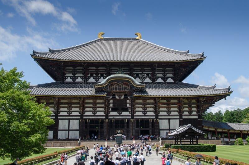 """Todai-ji - большой Будда Hall Здание мира \ """"s самое большое деревянное стоковое изображение rf"""