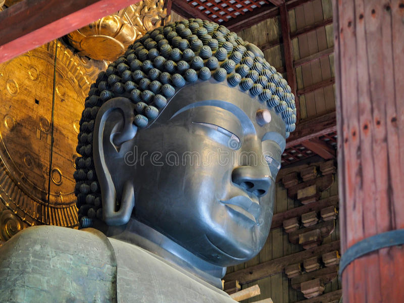 Todai-ji buddha em Nara imagem de stock royalty free
