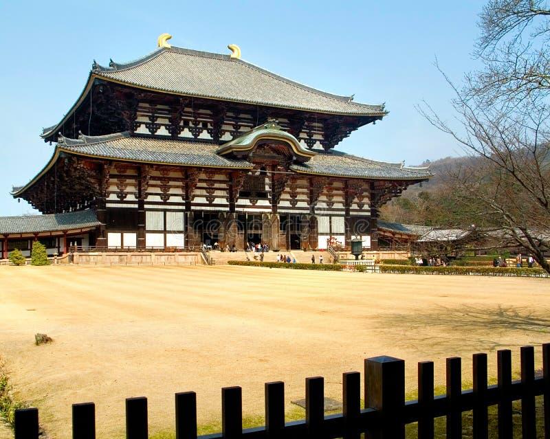 Todai-ji (o grande templo oriental) imagens de stock