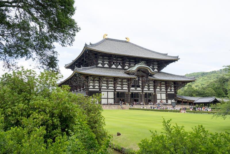 Todai-ji tempel 1 royaltyfri fotografi