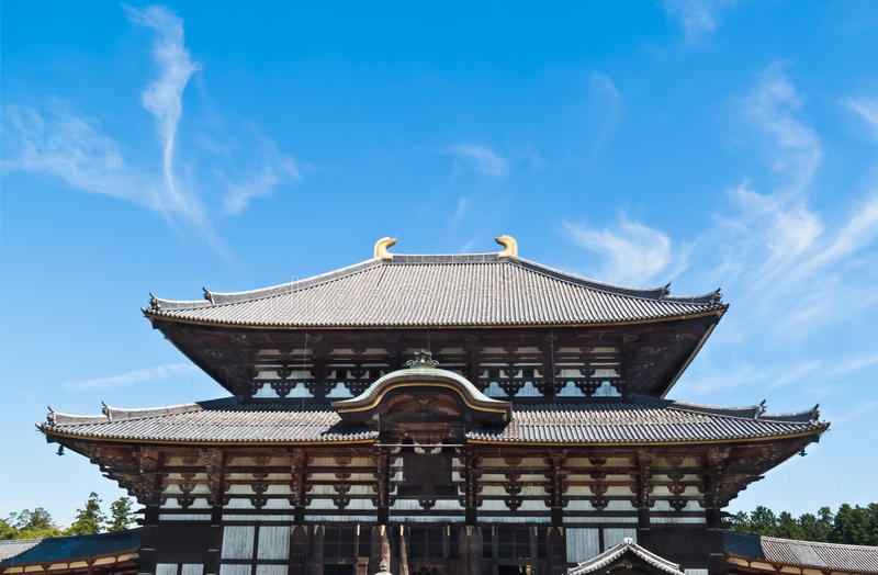 Download Todai-ji Temple stock photo. Image of nice, huge, holy - 26854560