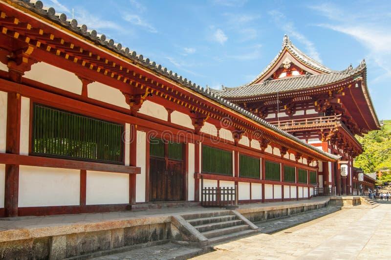 Todai ji temple Eastern Great Temple, Nara shi, Nara Prefecture, Kansai region, Japan.  stock image