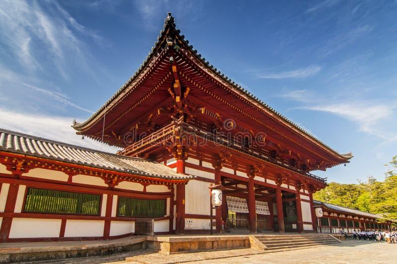 Todai ji temple Eastern Great Temple, Nara shi, Nara Prefecture, Kansai region, Japan.  royalty free stock photo