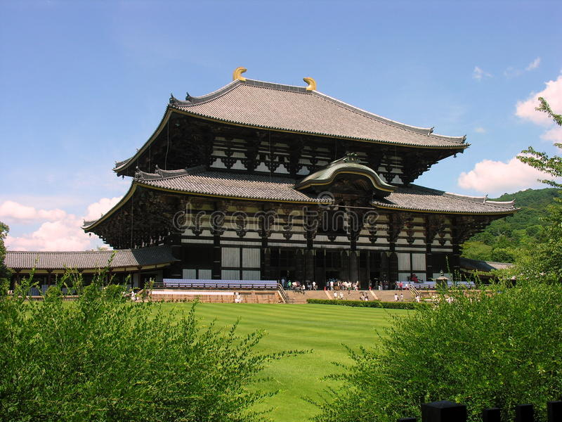Download Todai-ji temple in Nara stock photo. Image of sunny, temple - 13932446