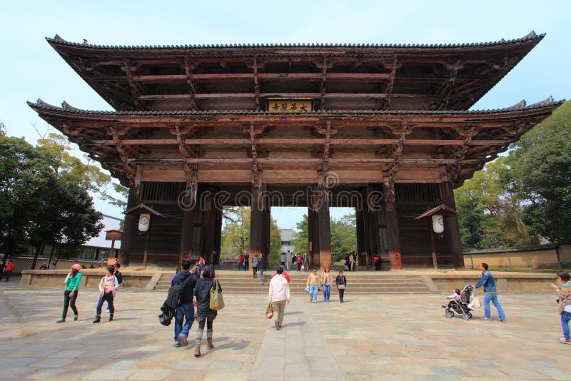 Todai-ji Temple of Nara,Japan royalty free stock photos
