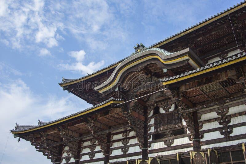 Todai-jitempel. Nara. Japan stockbilder