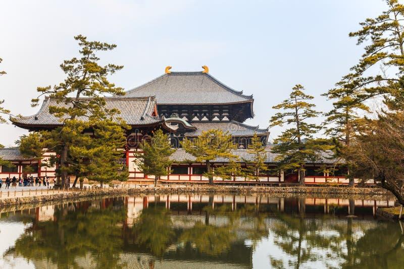 Todaiji寺庙 库存照片