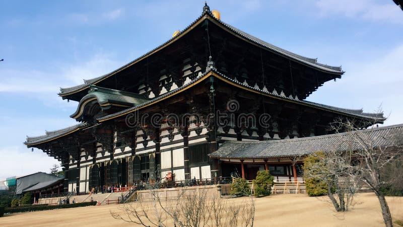 Todaiji寺庙 免版税库存照片