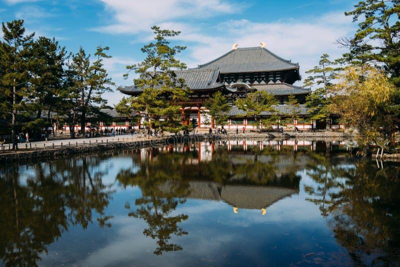 Todaiji Świątynia zdjęcie royalty free