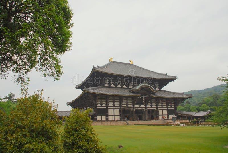 todaiji виска залы вертепа daibutsu стоковое изображение rf