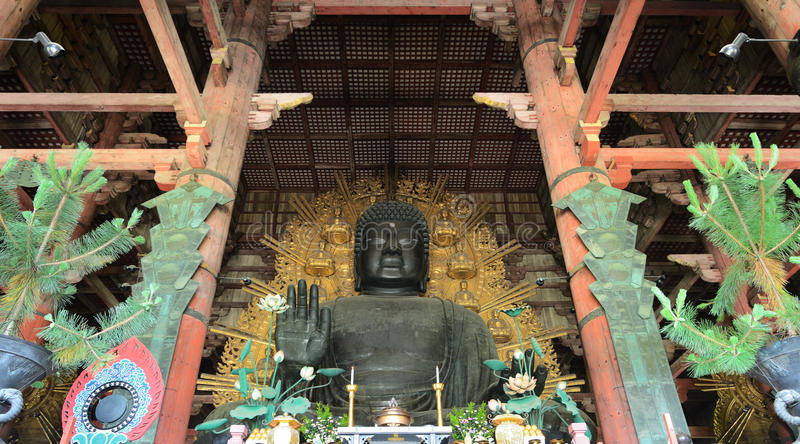 Todaiji Buddha Stock Photos