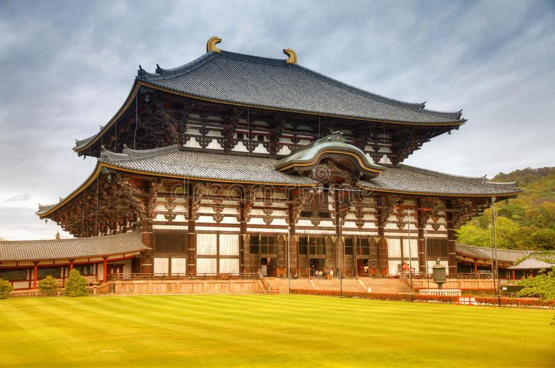 todaiji de temple de Nara photos libres de droits