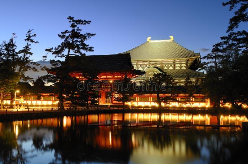 Todaiji tempel royaltyfria foton