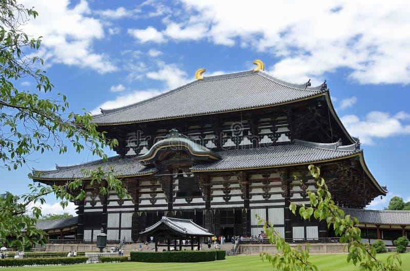 Todaiji tempel arkivbilder