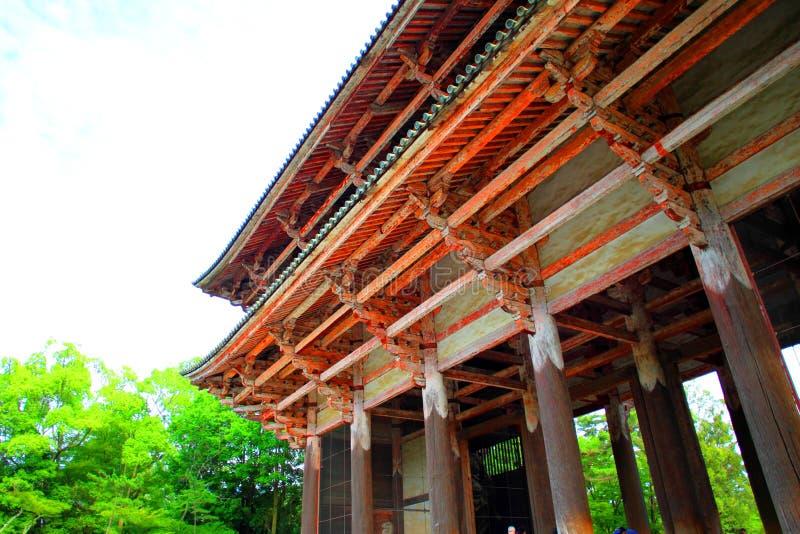 Todaiji Tempel stockbilder