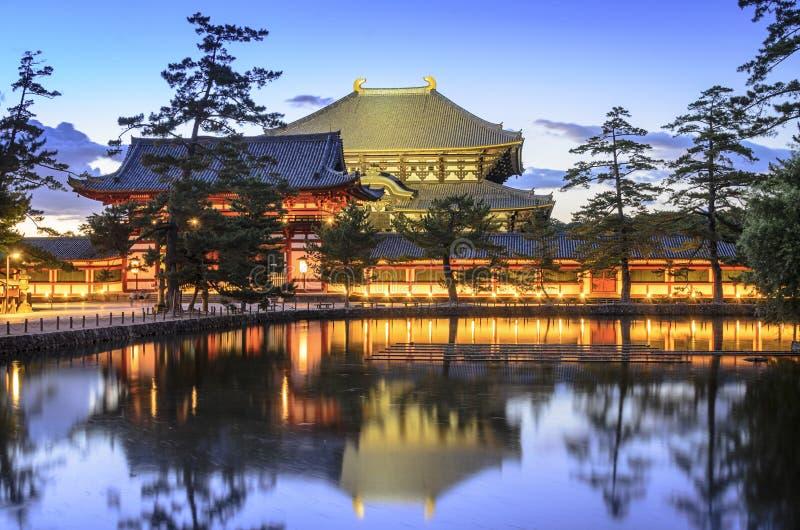 Todaiji tempel royaltyfri fotografi
