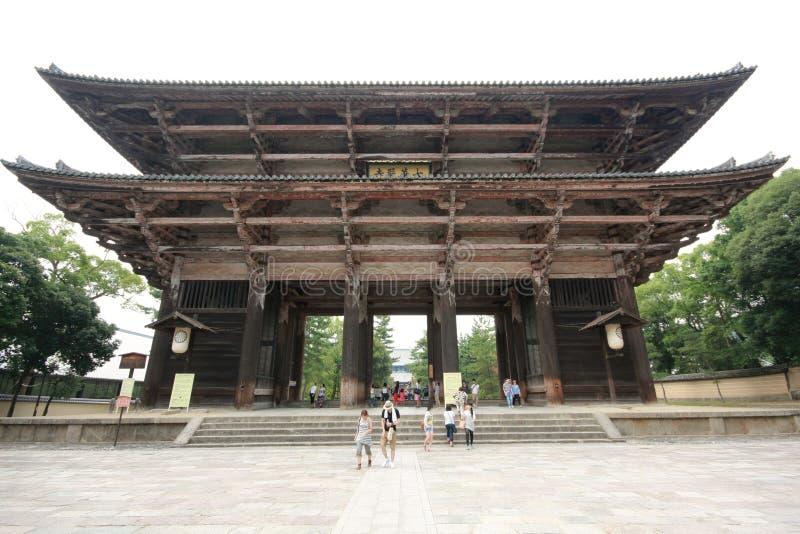 Todaiji-Tempel in Nara, Japan stockfotos