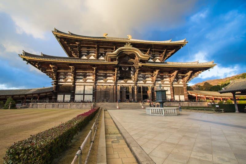 Todaiji-Tempel in Nara, Japan stockfotografie