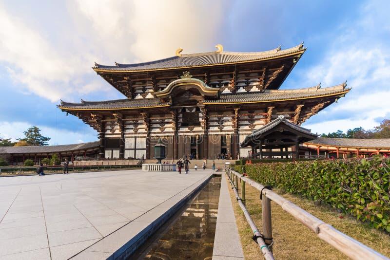 Todaiji-Tempel in Nara, Japan lizenzfreie stockbilder