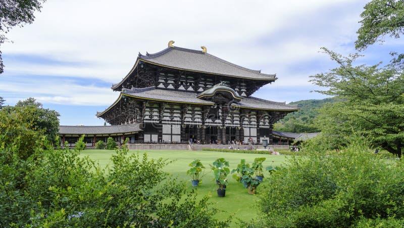 Todaiji tempel - Nara - Japan royaltyfri foto