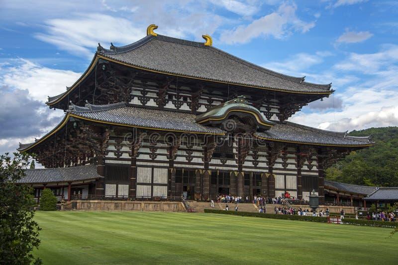 Todaiji Tempel in Nara, Japan lizenzfreie stockfotografie