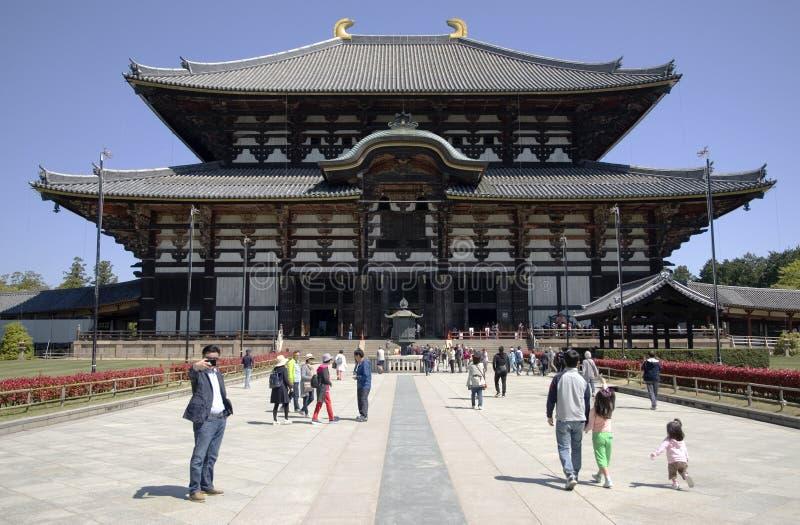 Todaiji Tempel, Nara, Japan lizenzfreies stockfoto