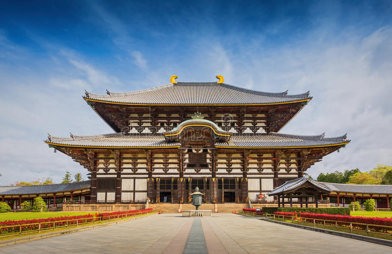 Todaiji Temple in Nara , Japan royalty free stock photo