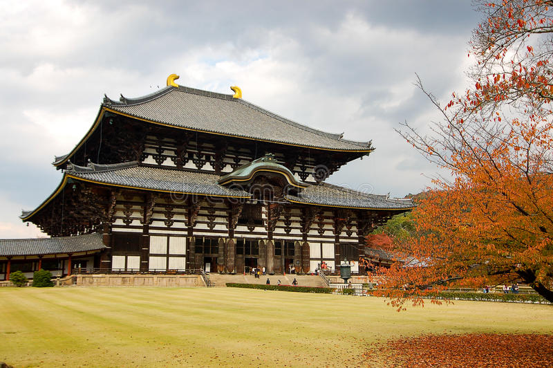 Todaiji Temple at Nara, Japan stock images