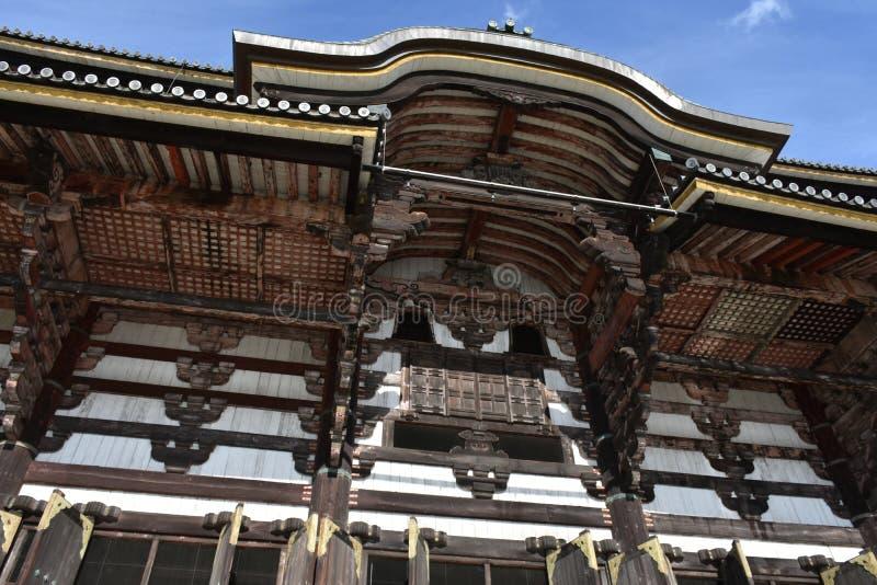 Todaiji temple Nara, Japan royalty free stock photography