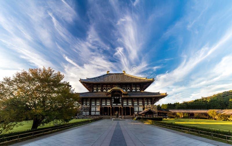 Todaji tempel royaltyfri foto