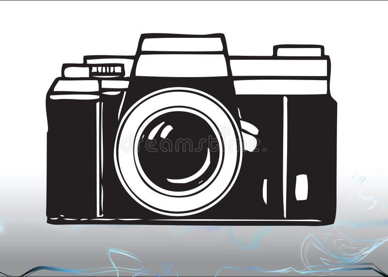 Todavía cámara de la foto ilustración del vector
