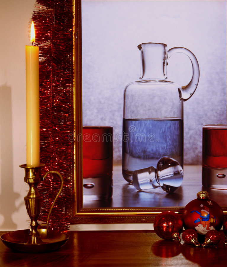 Todavía la Navidad fotos de archivo