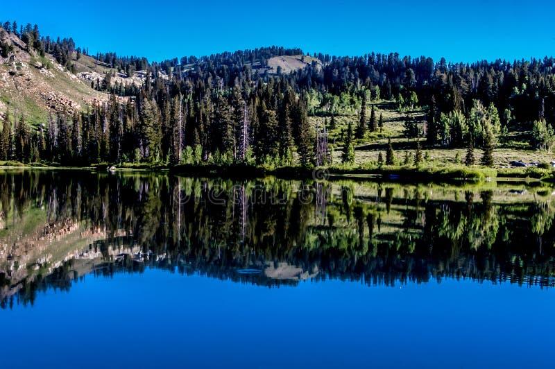 Todavía lago imagenes de archivo