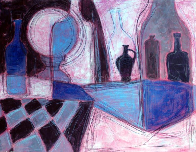 Todavía pintura de la vida libre illustration