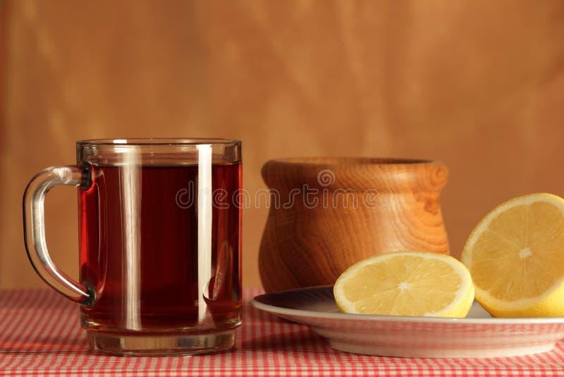 Todavía vida con té imagen de archivo