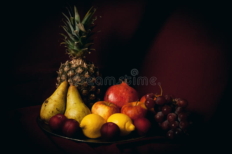 Todavía vida de frutas imagenes de archivo